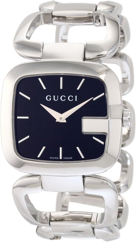 Gucci, orologio da donna, in acciaio argentato YA125407