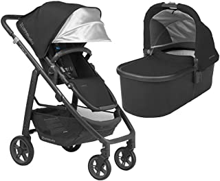 UPPAbaby Full-Size Cruz Infant Baby Stroller & Bassinet Bundle (Jake)