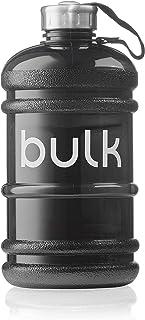 Bulk Gourde D'Eau, Gourde De Sport, Noir Metallisé, 2,2 Litres