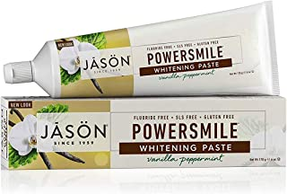 Best Jason Powersmile Whitening Fluoride-Free Toothpaste, Vanilla Peppermint, 6 Oz Review