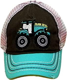 Tractor Baby/Kids Mesh Hat