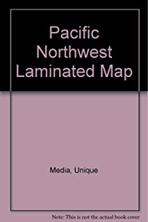 Pacific Northwest Laminated Map