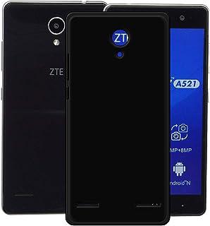 YZKJ Fodral för ZTE Blade A521 skydd, mjuk mobiltelefonväska svart TPU mobiltelefonfodral silikon väska skal fodral skydd ...