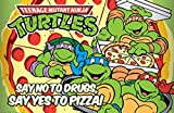Teenage Mutant Ninja Turtles Say Yes to Pizza Poster