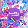 Original Stationery Unicorn Slime Kit Supplies Stuff for Girls Making Slime [Everything in One Box] Kids Can Make Unicorn, Glitter, Fluffy Cloud, Floam Putty, Pink #4