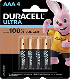Duracell 32055 Ultra Type AAA Alkaline Batteries, pieces of 4 - (Pack of1)