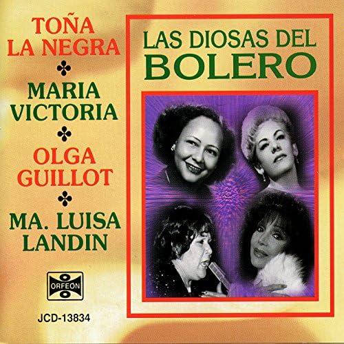 Toña La Negra, Maria Victoria, Olga Guillot & Ma. Luisa Landin