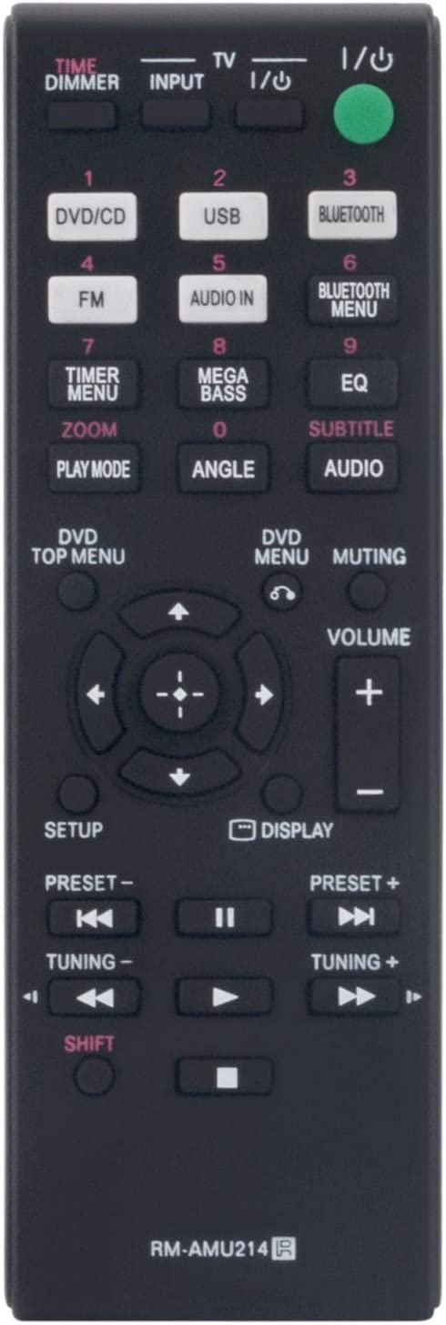 RM-AMU214 Replace Remote Control -WINFLIKE RMAMU214 Under blast sales New Free Shipping Contr