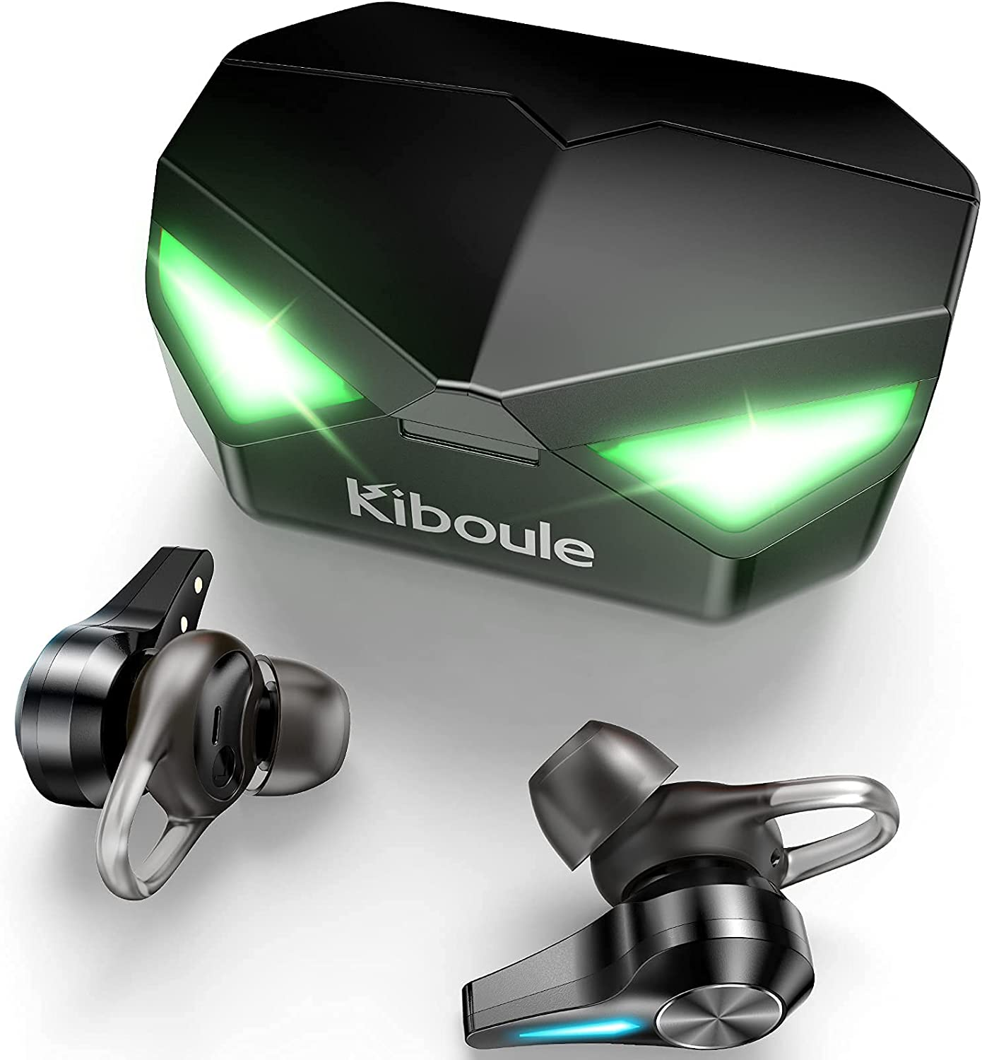 Kiboule Wireless Bluetooth Gaming Earbuds,Headphones 45ms Low Latency in-Ear Gaming Headset,Stereo Sound with Buil-in Mic with Charge case…