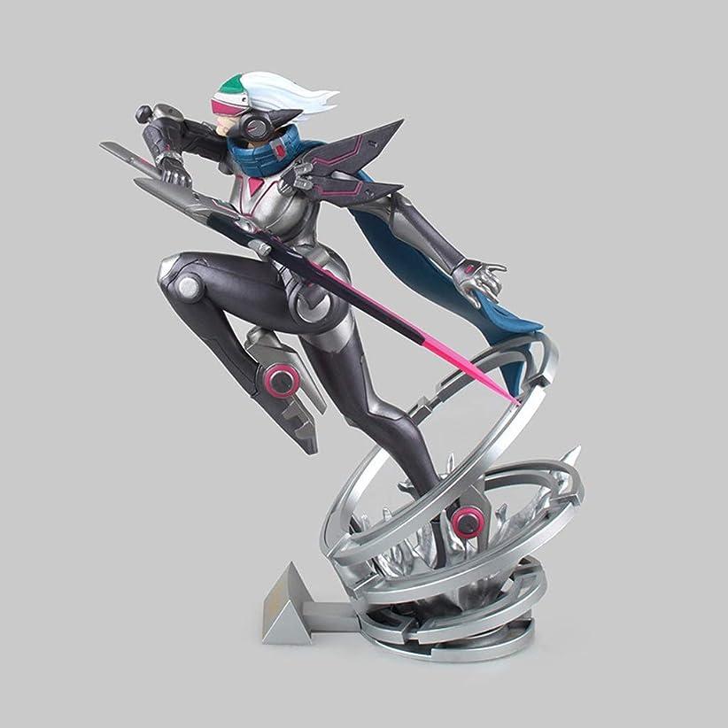 くしゃみ頑丈処分したゲームモデル、PVC子供のおもちゃコレクションの彫像、デスクトップの装飾的なおもちゃの彫像のおもちゃのモデル、並ぶものがない刀Ji Fiona(17cm) JSFQ