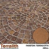 Terralith Drän Pflasterfugenmörtel 26 kg -terracotta hell-