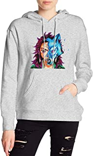Demon Slayer Kimetsu No Yaiba Kamado Tanjirou 1 Hoodies Sweatshirt Adult Pullovers for Women