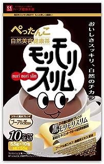 ハーブ健康本舗 黒モリモリスリム (プーアル茶風味) (10包)
