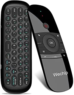 WeChip Mini Air Fly Mouse Remote 2.4G Control de detección de movimiento con teclado para Android TV Box/PC/TV