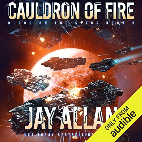 Cauldron of Fire audiobook cover art