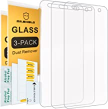 [3-Pack]- Mr. Shield for LGFiesta2 [Tempered Glass] Screen Protector [0.3mm Ultra Thin 9H Hardness 2.5D Round Edge] with Lifetime Replacement