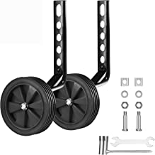 Geminiman Bicycle Training Wheels Stronger Version Design with Reinforced Metal Heavy..