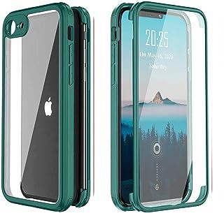XCYYOO Coque Compatible avec iPhone Se 2020/7/8,360 degrés Coque Complète Antichoc de Protection Intégrale Hybride avec Pr...