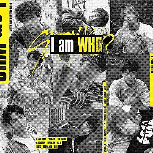 Stray Kids – I am WHO [I am ver.] (2. Mini-Album) CD + Fotobuch + 3 QR-Fotokarten + auf Pack-Poster + gefaltetes Poster + Geschenk