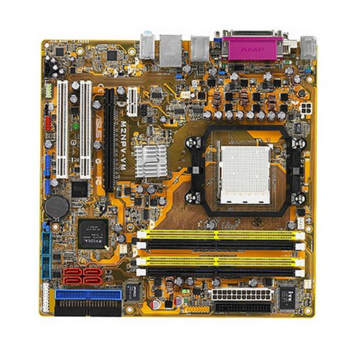 ASUS M2NPV-VM - Placa base (8 GB, AMD, Socket AM2, Gigabit Ethernet, Micro ATX, 5.1 channels)