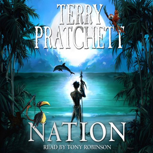 Nation audiobook cover art
