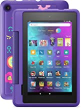 """Introducing Fire 7 Kids Pro tablet, 7"""" display, ages 6+, 16 GB, Doodle"""