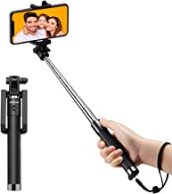 Mpow Bastone Selfie Bluetooth, Leggero monopiede allungabile da 31,9 pollici con telecomando Bluetooth Compatibile per iPhone 11/11 PRO/11 PRO Max/XS Max/X/8/7/6, Galaxy S10/S9/S8/S7, P30 P20.