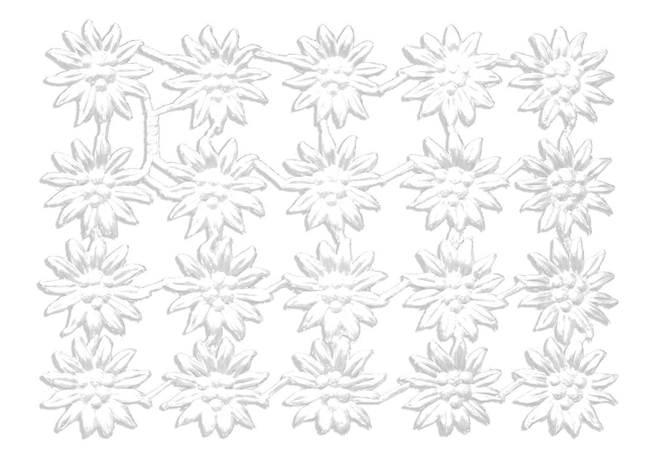 Kunze 20-Piece Dresden Blossoms Edelweiss, White