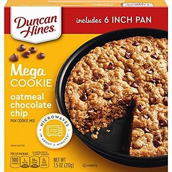 Duncan Hines Mega Cookie Oatmeal Chocolate Chip Pan Cookie Mix 7.5 Oz