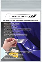 Install Proz Self-Healing Clear Paint Protection-Rear Bumper Protector