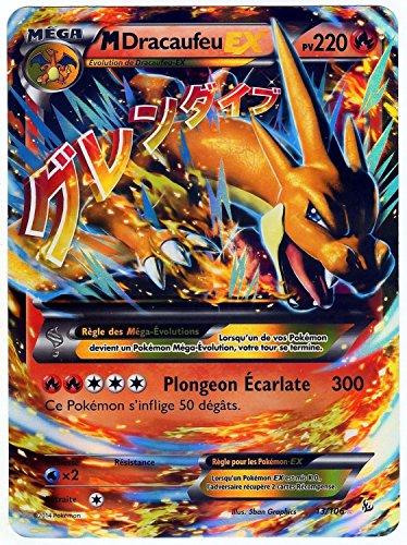 Carte Pokémon 13106 Mega Dracaufeu Ex Jumbo 220 Pv Full Art Promo