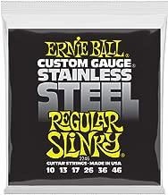 Ernie Ball Stainless Steel Regular Slinky Set, .010 - .046