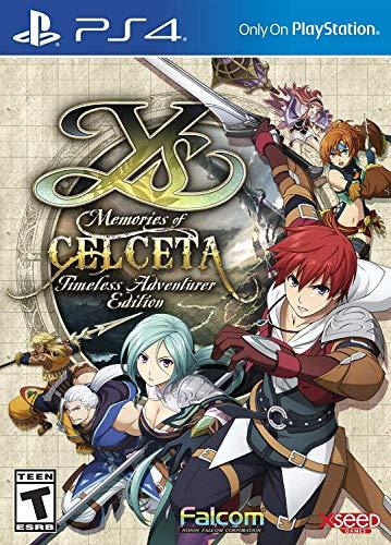 Ys: Memories of Celceta - Timeless Adventurer Edition (輸入版:北米) - PS4