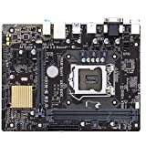 XCJ Placa Base Gaming ATX Ajuste para Fit For ASUS H81M-E R2.0 Placa Base De Escritorio H81 Socket LGA 1150 I3 I5 I7 DDR3 16G Micro-ATX UEFI BIOS Página Principal Placa Madre