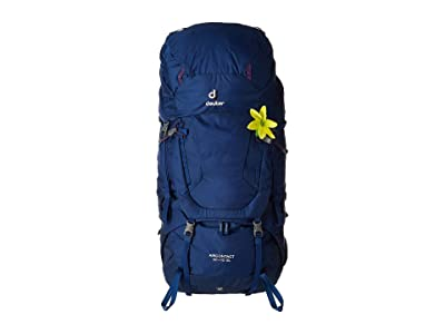 Deuter Aircontact 60 + 10 SL (Steel/Midnight) Backpack Bags