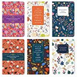 6 Packs Softcover Pocket Notebook 96 Pages (48 Sheets), 5'x 8' Small Lined Memo Notepad, Original Design Writing Pad, Sewn Binding, Perfect for Quick Note