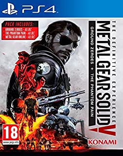 Metal Gear Solid 5 The Definitive Experience By Konami Region 2 - Playstation 4