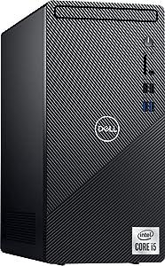 2021 Newest Dell Inspiron 3880 Desktop Computer, 10th Intel Quad-Core i5-10400 Processor, 16GB DDR4 RAM, 256GB PCIe SSD + 1TB HDD, WiFi, VGA, HDMI, Bluetooth, Windows 10 Home, Black (Latest Model)