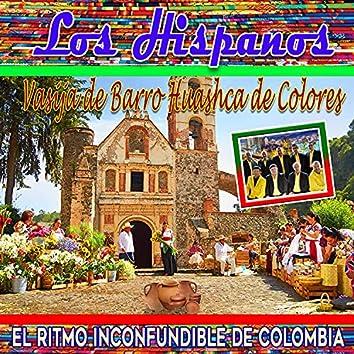 El Ritmo Inconfundible de Colombia Vasija de Barro Huashca de Colores