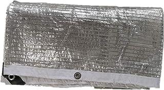 GDMING オーニングシェード遮光ネット 断熱する 吸熱性ではない メタルホール ラップ角 ルーフシャドープロテクション アルミホイル 、22サイズ (色 : シルバー しるば゜, サイズ さいず : 3x6m)