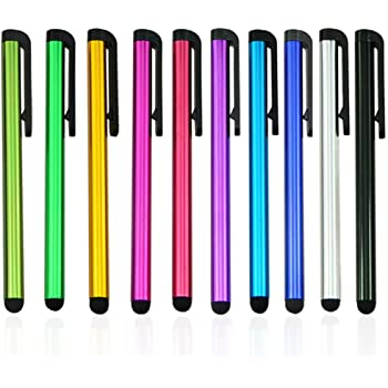 10x Universal Metal Touch Screen Pen Stylus For iPhone iPad Tablet Phone HEP