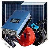 Regulador de Carga solar Kit 2.000W Autoconsumo Vertido Cero Inyección a Red