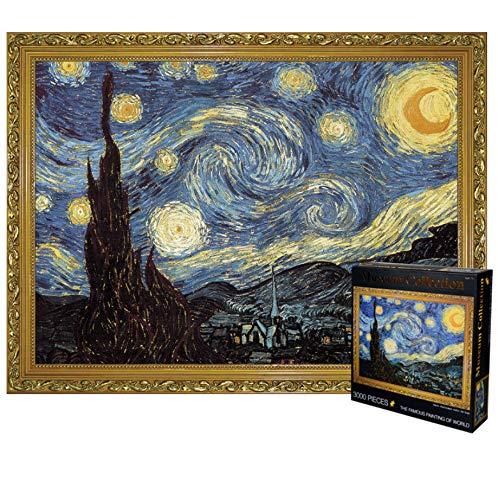 Puzzle per adulti, 3000 pezzi di puzzle di decompressione del cielo stellato, giocattoli educativi e puzzle regalo per i giovani(Senza cornice)