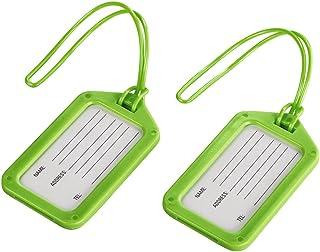 HAMA Etichette per bagaglio 2 pzz, verde