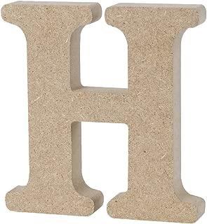 Vosarea 木製アルファベット文字壁ホームオフィス結婚式パーティーの装飾-h