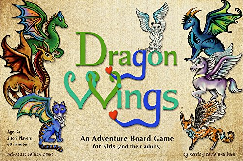 Dragon Wings ~ an Adventure Board Game for Kids (and Their Adults)