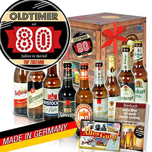 Oldtimer 80 ++ DDR Bier Geschenk ++ Geschenke 80ten Geburtstag
