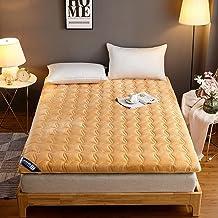 Japanese Futon Mattress Floor Mattress,Thick Tatami Mattress Foldable,Japanese Roll Up Bed,Non-Slip Tatami Mat Sleeping Pa...