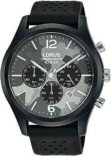 Lorus Sport Man Mens Analog Quartz Watch with Silicone Bracelet RT397HX9