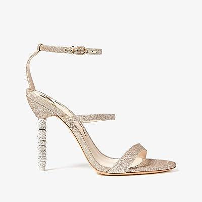 Sophia Webster Rosalind Crystal Sandal (Champagne Glitter) Women